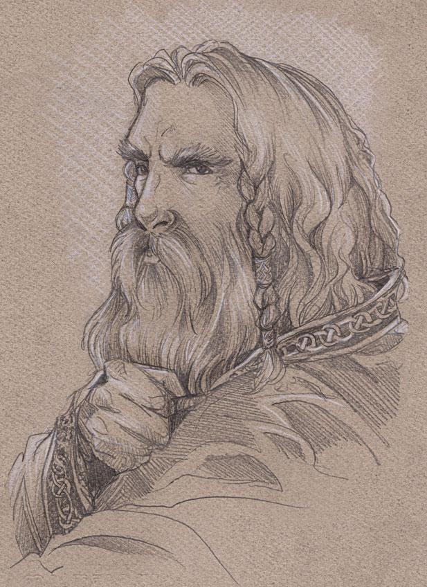 Heiftgrim, Hrauns Sohn, Hammarins Sohn, Högnas Sohn