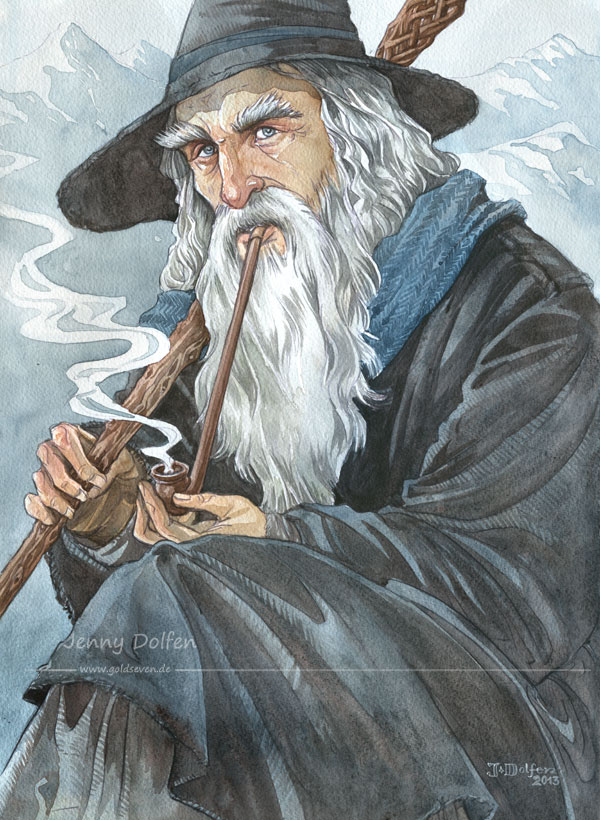 """Gandalf"" by Jenny Dolfen"