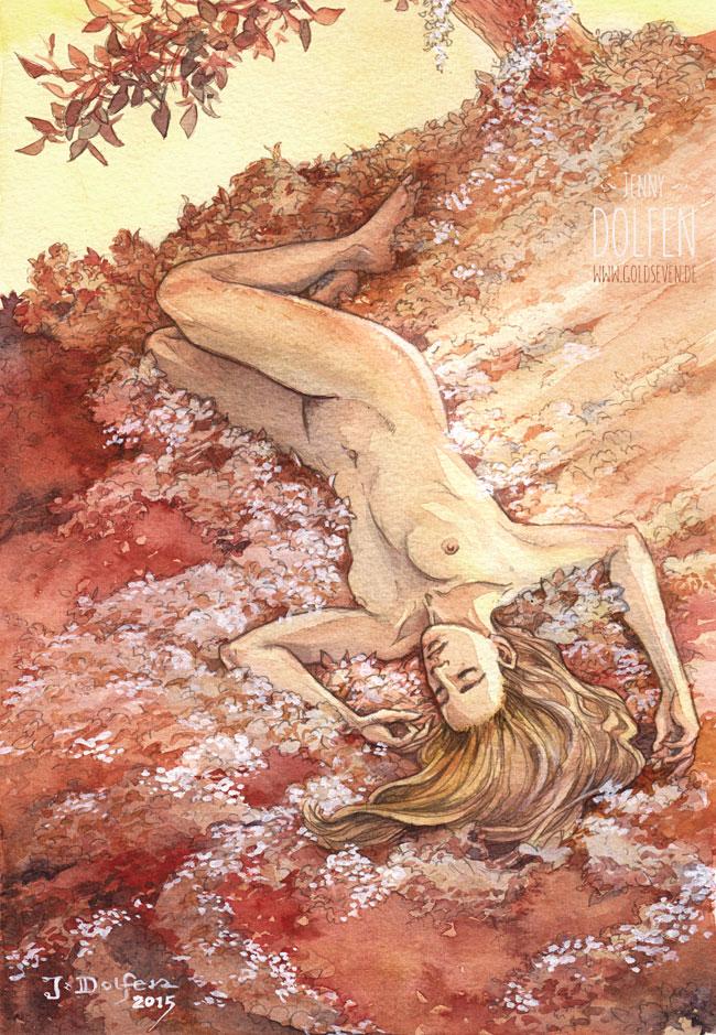 'Nienor upon Haudh-en-Elleth' by Jenny Dolfen