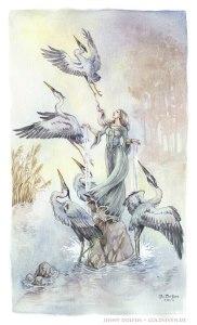 The Lady of Heron Lake